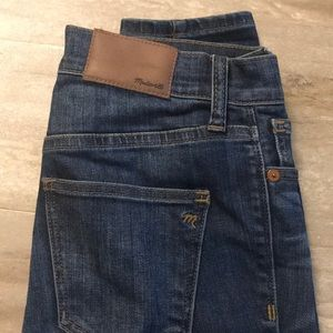 Madewell High Riser skinny jeans 24